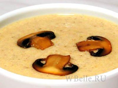 суп с шампиньоны рецепты приготовления