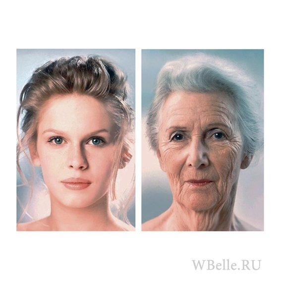Как сделать старение лица