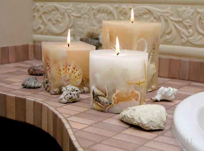 Свечи своими руками фигурные