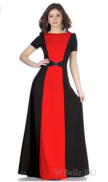 Наступил длинное платье