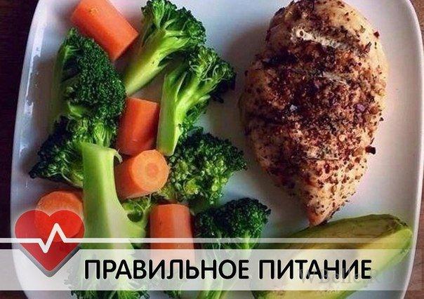 Рецепты правильного питания на ужин